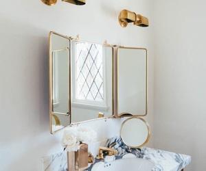 bathroom, decor, and bedroom image