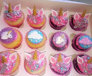cupcake, unicorn, and cake image