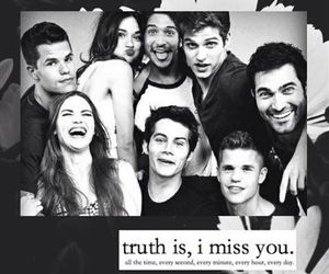 black and white, teen wolf, and teenwolf image