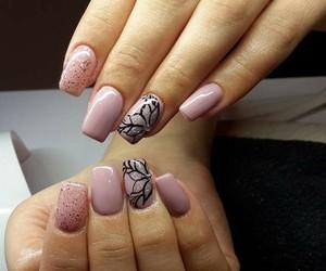 beautifull, nail art, and nails image