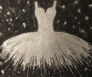ballerina, black, and dance image