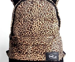 leopard, zaino, and orecchie image