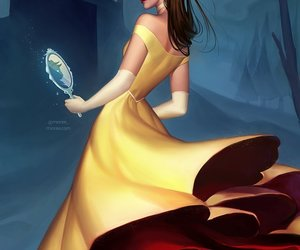 beauty, disney, and the beauty and the beast image