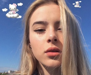 beauty, girl, and icons image