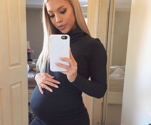 girl, pregnant, and tammyhembrow image