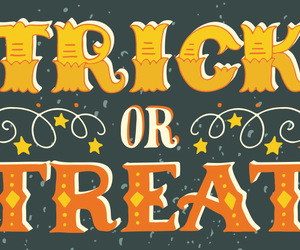 Halloween and trick-or-treat image