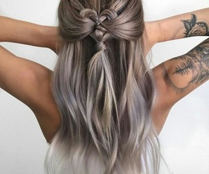 hair, pretty, and want image