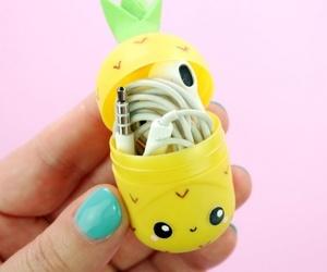 cute, diy, and pineapple image