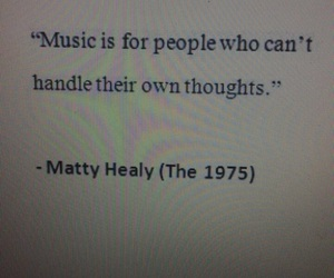 music, quote, and the 1975 image