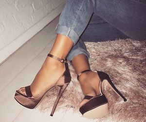 accessories, heels, and style image