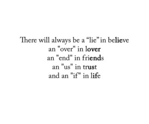 life, friends, and quotes image