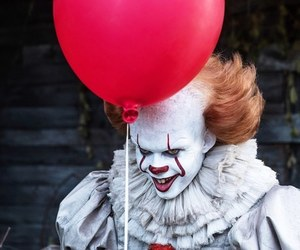it, pennywise, and clown image