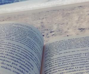 beach, livros, and praia image