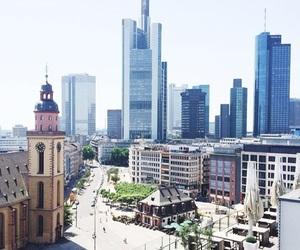buildings, frankfurt, and germany image