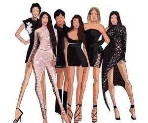 Kendall, kardashians, and kim k image