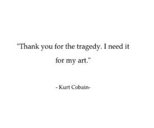 art, deep, and kurt cobain image