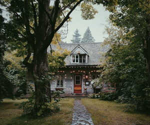 house, home, and nature image
