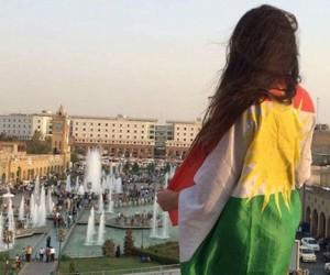 kurdistan, kurdish girl, and 😘 image