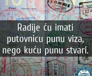 balkan, passport, and quotes image