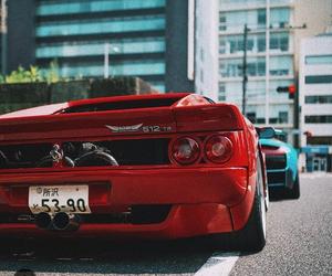 car, ferrari, and racing image