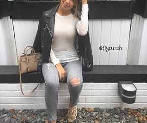 bag, clothes, and nike image