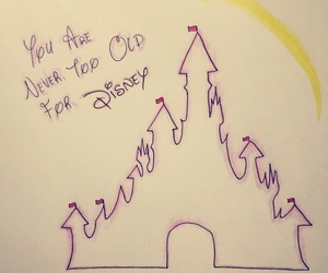 disney, disney castle, and drawing image