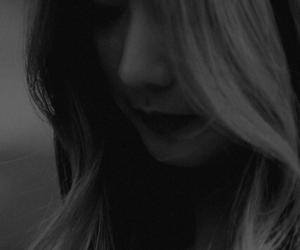 black and white, eunji, and hayoung image