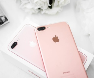 iphone, photography, and pink image