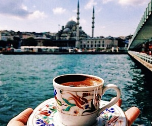 coffee, istanbul, and mosque image