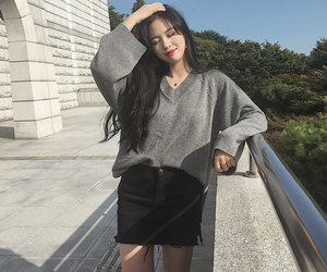 girl, asian, and fashion image