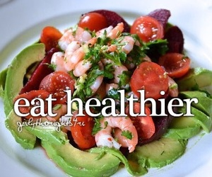 healthy and girly thoughts image