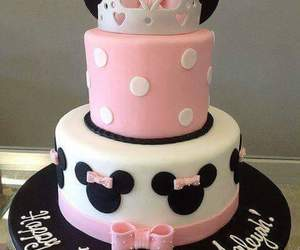 cake and minnie image