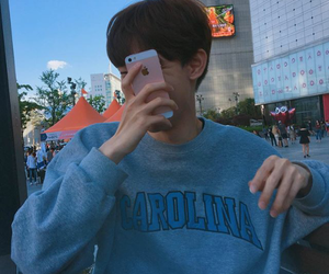 aesthetic, iphone, and ulzzang boy image