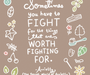 quotes, arrietty, and fight image