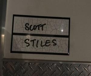 scott, teen wolf, and stiles image