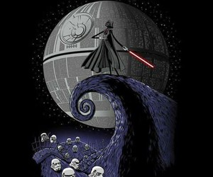 star wars and the nightmare before christmas image