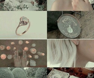 aesthetic, white, and witch image