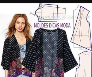 Couture, gilet, and kimono image