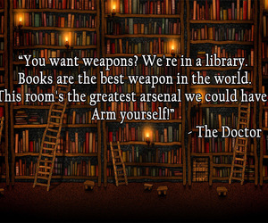 amazing, library, and quote image
