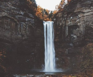 adventure and waterfall image