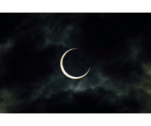 moon, dark, and grunge image