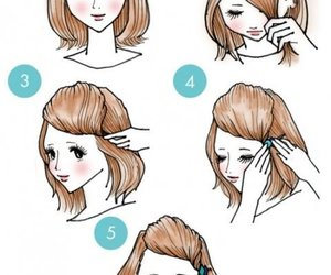 beauty, hairstyle, and girls image