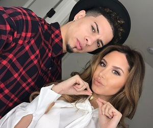 austin mcbroom, catherine paiz, and love image