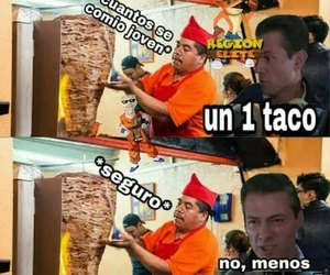memes, pena, and tacos image