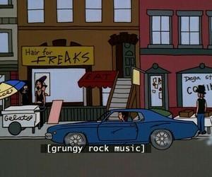 grunge, music, and Daria image