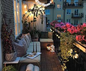 balcony, home, and decor image