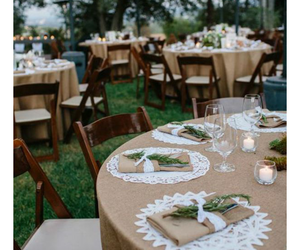 rustic, table, and wedding image
