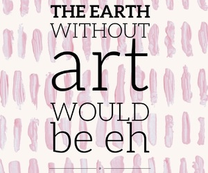 art, easel, and quotes image