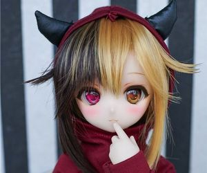 anime, bjd, and cute image