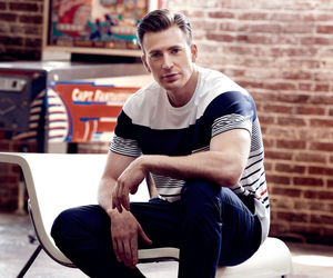 actor, photoshoot, and chris evans image